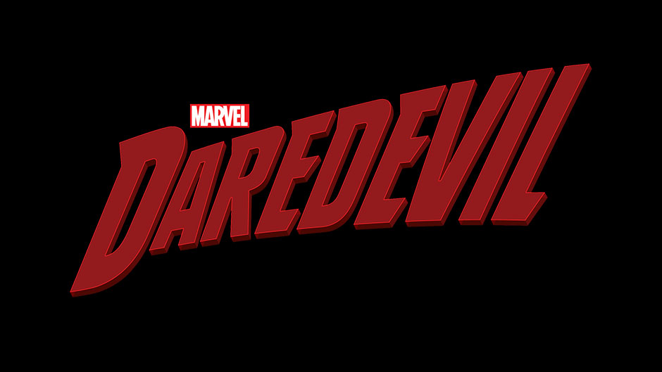 Red title, Daredevil, a small red and white Marvel logo above.